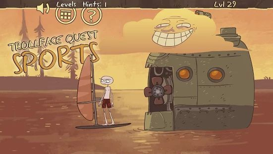 Troll face Quest Sports puzzle